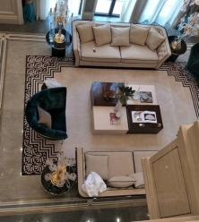 客厅地面理石