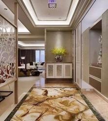 门厅地面理石
