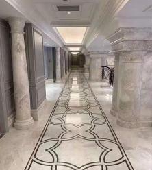 走廊地面西米理石