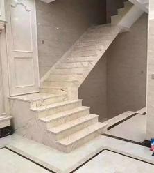 直楼梯理石